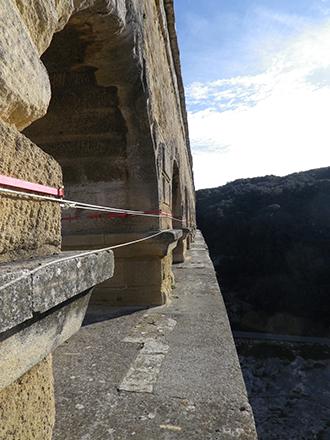 Ligne-de-vie-du-Pont-du-Gard-