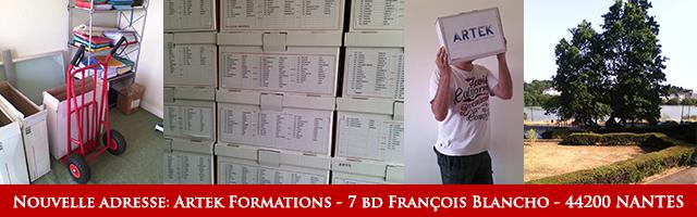ARTEK Formations déménage à Nantes