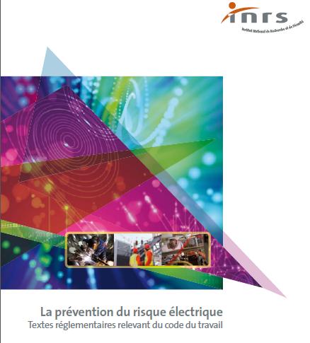 Brochure INRS sur la prévention des rsiques électriques mars 2015 ARTEK Formations habilitations électriques