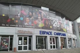 Notre formations travail en hauteur pour les techniciens de l'espace culturel Carpeaux à Courbevoie