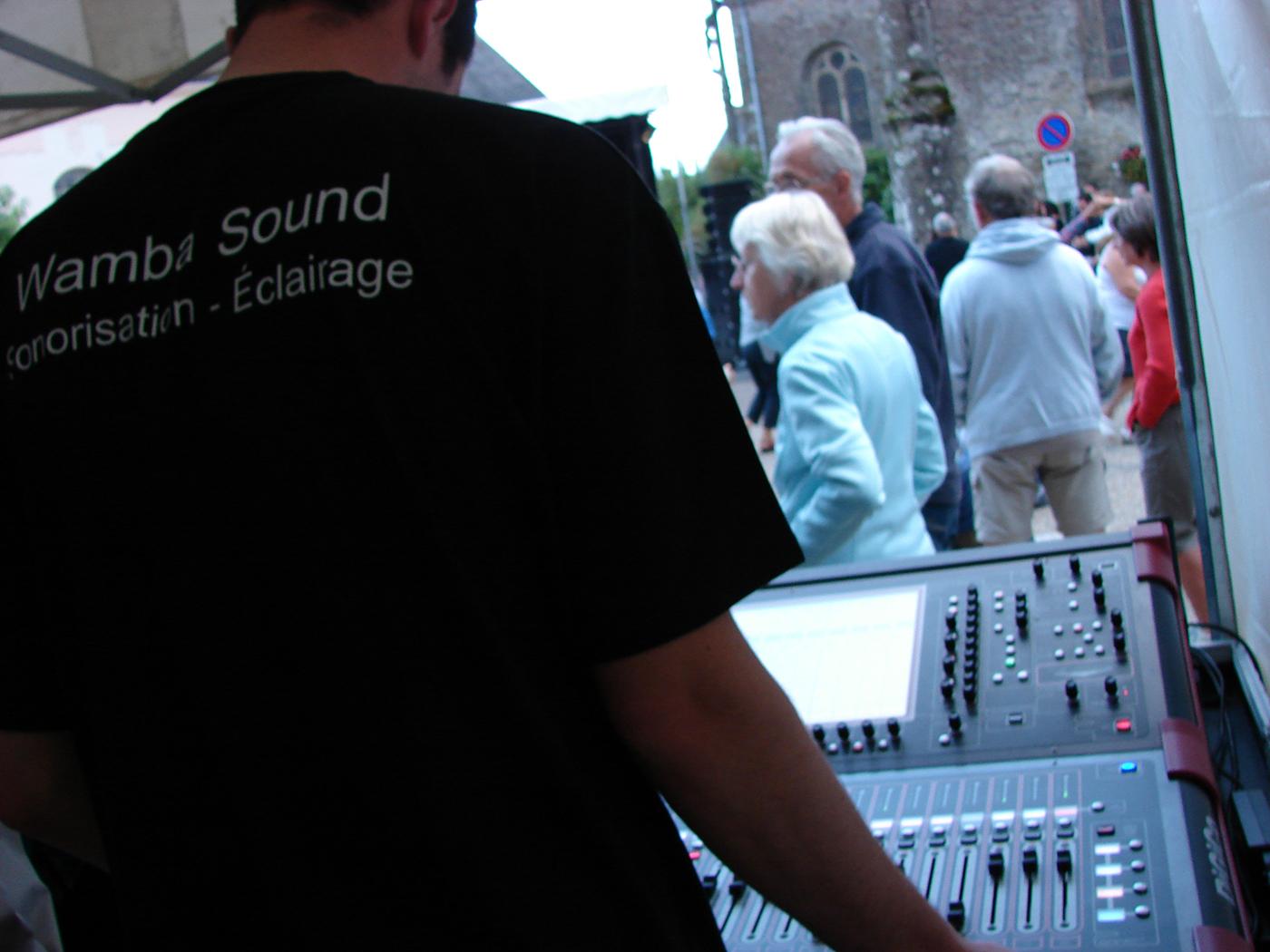 Wamba Sound sur un évènement
